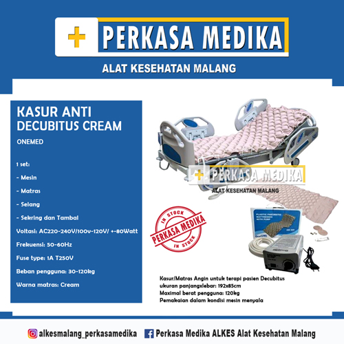harga Kasur anti decubitus cream onemed malang