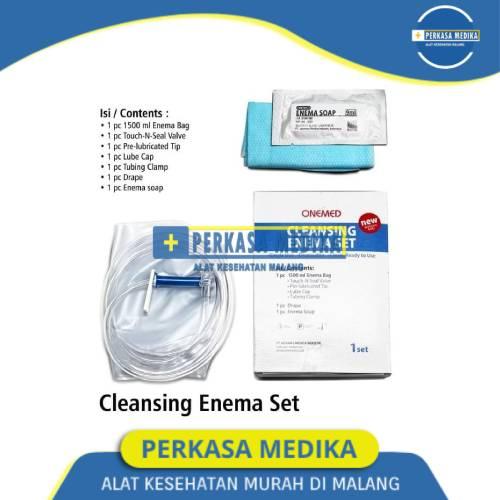 Cleansing Enema Set Onemed Enema kopi di Perkasa Medika Malang (1)