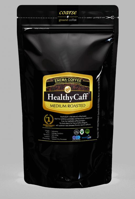 Healtycaffmedium 500g coarse