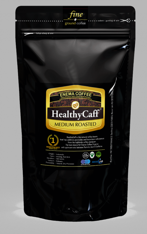 Kopi Enema Detoxifikasi Colon Usus Besar ( Medium 500gr Roast )