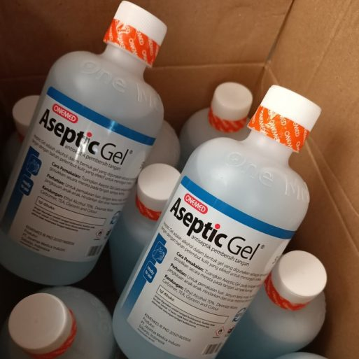 Aseptic Gel 500 ml ONEMED Refill Perkasa Medika (2)