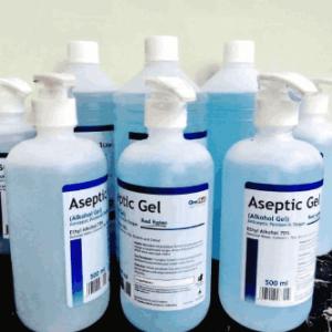 Aseptic Gel 500ml Pump Onemed Handsanitizer di Malang