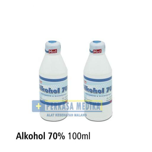 [Perkasa-Medika-Malang] alkohol 70% 100ml 2