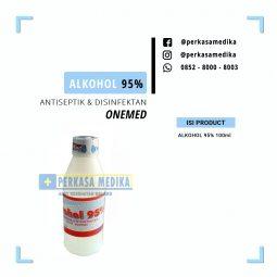[Perkasa-Medika-Malang] alkohol 95% 100ml a