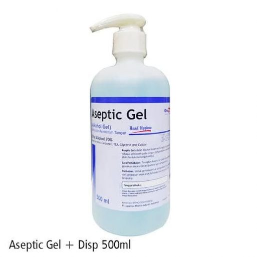 antiseptic gel onemed alkes malang