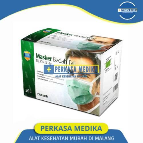 Masker Medis Tie On ( Tali ) 3 PLY Onemed Perkasa Medika (1)