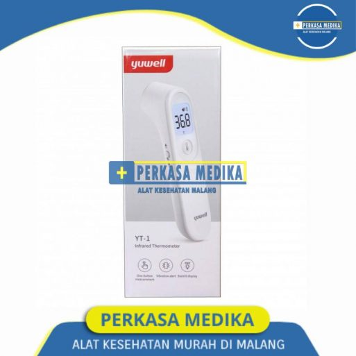 Thermogun Termometer Digital Dahi Infrared Non Kontak Yuwell YT-1 Dual Sensor Perkasa Medika Malang (1)