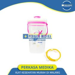 Alat Enema Kopi Selang + Jug Enema kopi Polka PINK Perkasa Medika Malang (1)