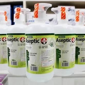 Aseptic Plus Cair 500 ml + Pump ONEMED Perkasa Medika (4)