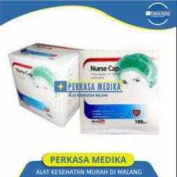 Nurse Cup Onemed isi 100 pcs Tutup Kepala wanita di Perkasa Medika Malang (4)