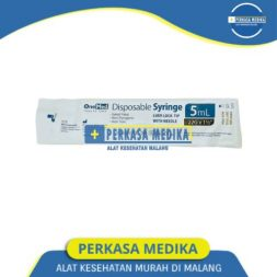SPUIT 5 CC Spuit Syringe Alat Suntikan Alat Injeksi Perkasa Medika malang (1)