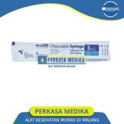Spuit 3 ml syringe 3cc onemed perkasa medika malang (4)